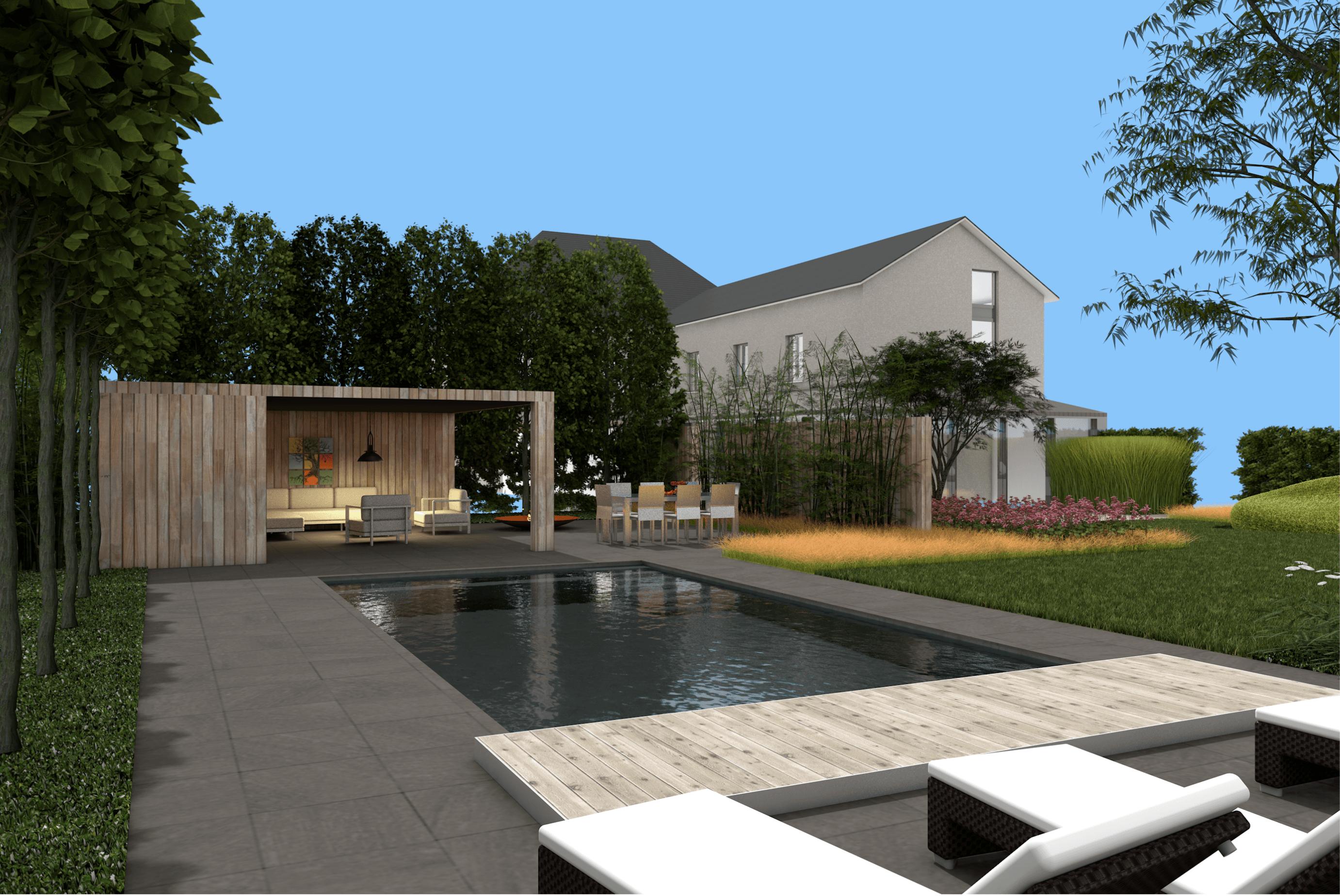 L 39 esquisse du jardin sprl architecte paysagiste en belgique - Architecte de jardin brabant wallon ...