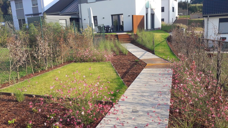 Petit jardin contemporain l 39 esquisse du jardin for Petit jardin contemporain